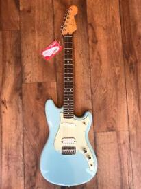 Fender Offset Duo Sonic in Blue Brand New