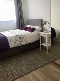 Newly refurbished double bedroom