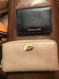 2 genuine Micheal kors purse