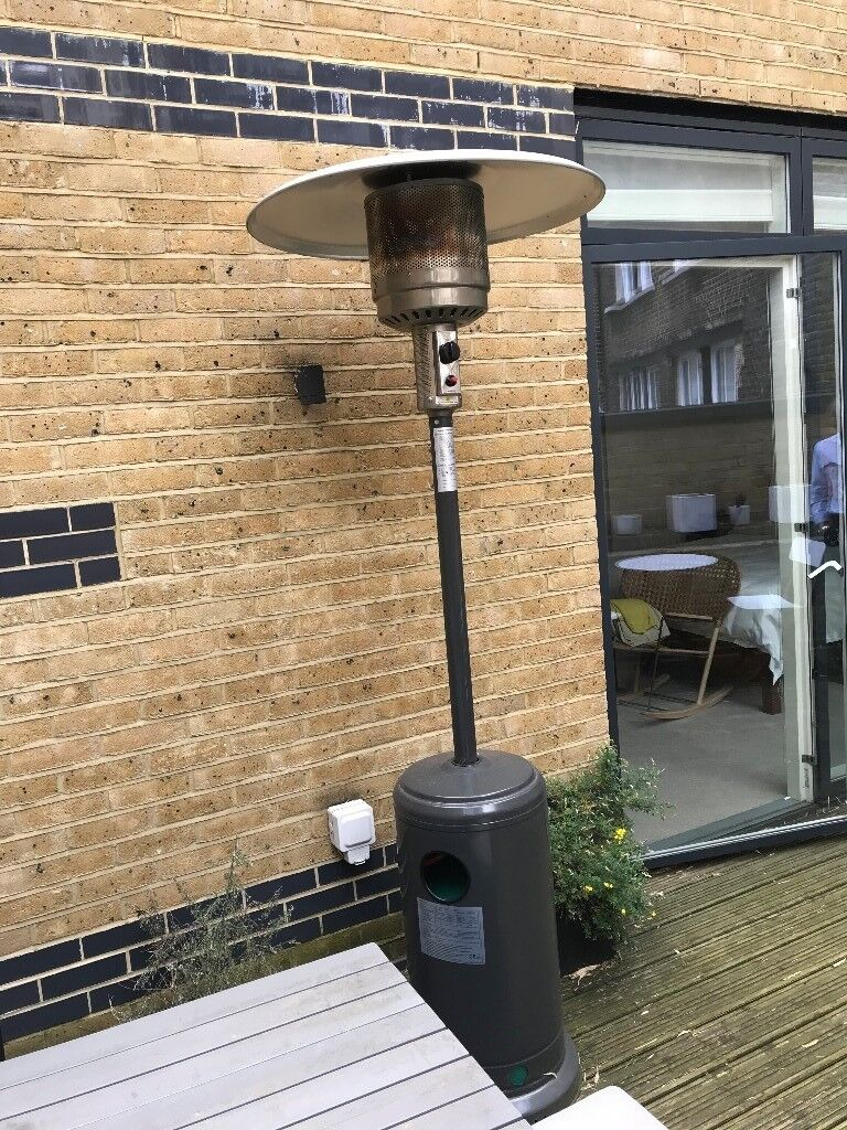 Less An Year Old Outside Heater With Propane Tank In Marylebone