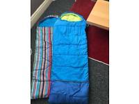 X2 sleeping bag 1 gelert brand.