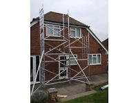 Lewis 9.6m scaffold tower