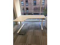 IKEA White Bekant Office Desk