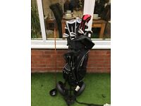 Golf Clubs Full Set Includes Taylor Made Irons