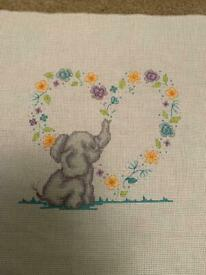 Personalised cross stitch pictures