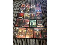 Bundle of 21 DVDs