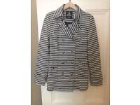 Ladies grey and black jacket size 12