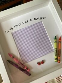 First day at school/ nursery gift frame