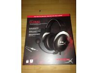 Brand new Hyperx cloud headset and carry case cost £70 + £15 for case