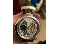 Unusual and rare automatic STUHRLING men's watch.