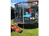 Kids trampoline excellent condition £40