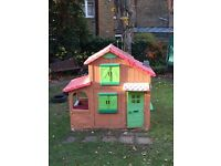 Smoby 2 Storey Playhouse