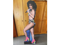 RHIANNA and BRUNO MARS originals full lifesize 6 foot Lifesize Cardboard signs