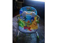 Baby Einstein 0 to 3 year musical vibrating chair