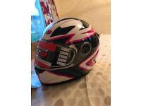 Motorbike helmet medium new never used