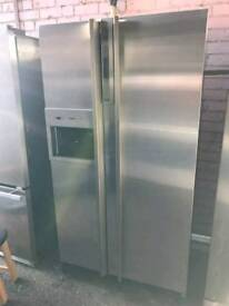 American fridge freezer stainless steel Gaggenau