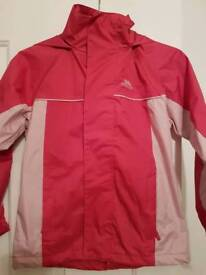 NEW Trespass Pink Coat 7 - 8 years old