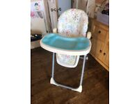 Free Chicco Highchair