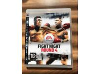 Fight night PS3 game