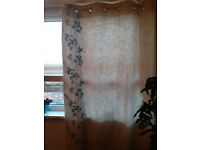 "Next Eyelet Curtains 135x183cm(53x72"") Excellent Condition"