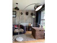 Arc floor lamp solid marble base