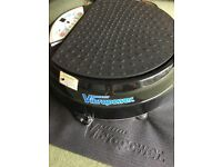Vibrapower Vibration Plate with resistance bands