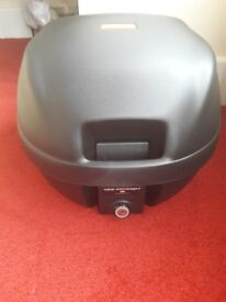 Aprilia Motorcycle or Scooter top box Brand New with universal mounting plate