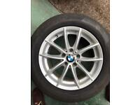 BMW X3 - 4 tyres with alloys