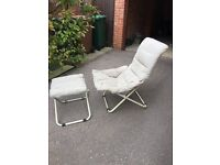 Garden Chair and Stool