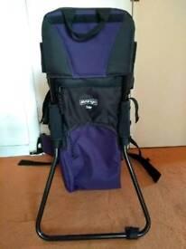 Vango baby/toddler rucksack carrier
