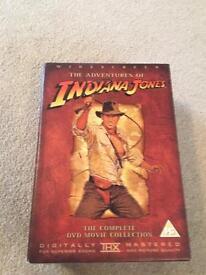 Indiana Jones box set (4 DVDs)
