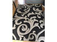 Black and Grey Rug