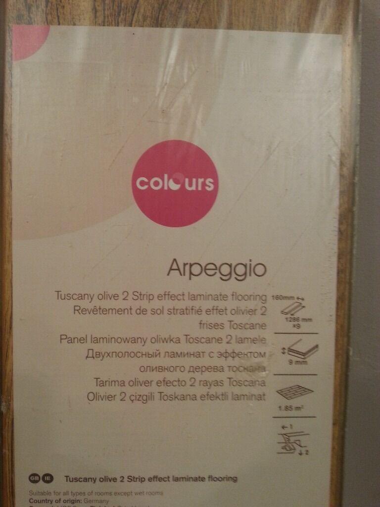 Arpeggio Heritage Oak Effect Laminate Flooring 1 85 M² Pack New In