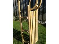 Wooden sledge fab condition