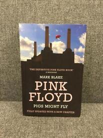 Rare Pink Floyd Pigs might fly PB Book novel band music retro SDHC