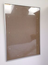 "HABITAT Aluminus 50x 70 cm/20 x 28"" Silver Picture Frame RRP £32"