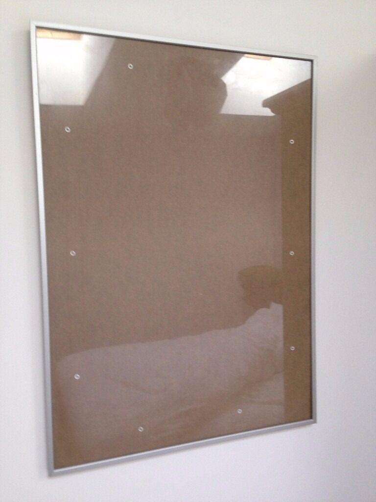 habitat aluminus 50x 70 cm20 x 28 silver picture frame rrp 32