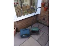 """QUALCAST PANTHER 30S PUSH MOWER WITH 12"""" CUTTING BLADE"""