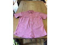 Two mens shirts Size SMALL
