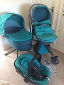 Mamas and papas travel system; buggy, pram, car seat