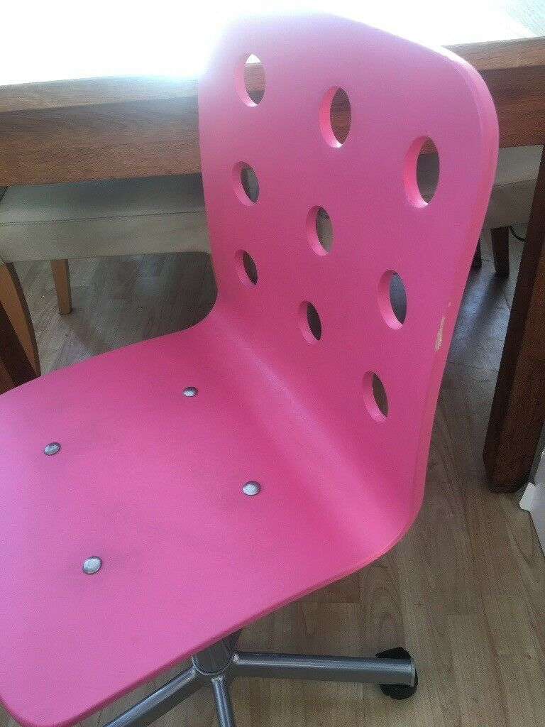 Fabulous Ikea Pink And White Micke Desk With Drawers And Desk Chair In Airdrie North Lanarkshire Gumtree Alphanode Cool Chair Designs And Ideas Alphanodeonline
