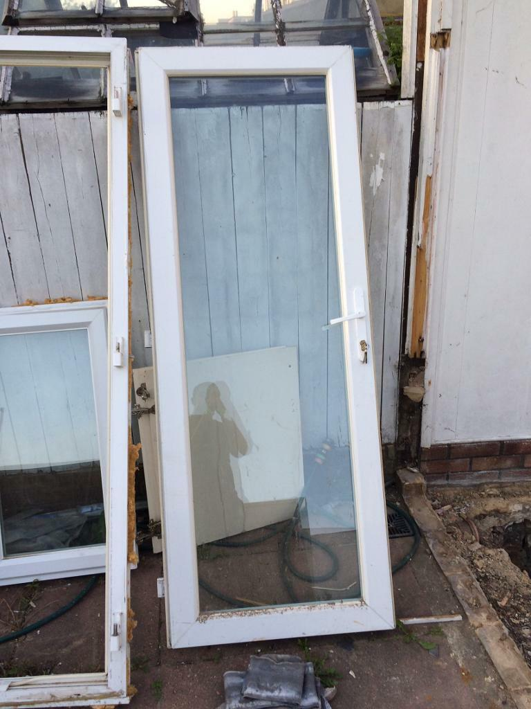 Upvc Glass Door And Frame With Lock Pvc Double Glazed In Streatham London Gumtree