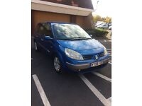 renault grand scenic 7 seater 4 owners drives like new 1.6 manual petrol