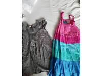 Girls bundle of dresses from Monsoon age 6-7