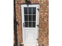 Upvc Georgian door & window less then 3 years old. Door h 200cm x w 80cm window h 120cm x 120