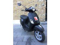 Matt Black - 2010 Vespa Lx 125cc - £900