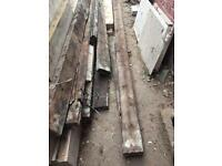 Used timber wood