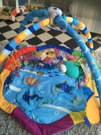 Baby play mat - under the Sea theme