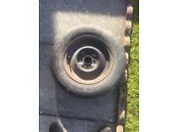 Caravan spare wheel