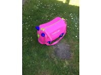 Trunki finished in pink